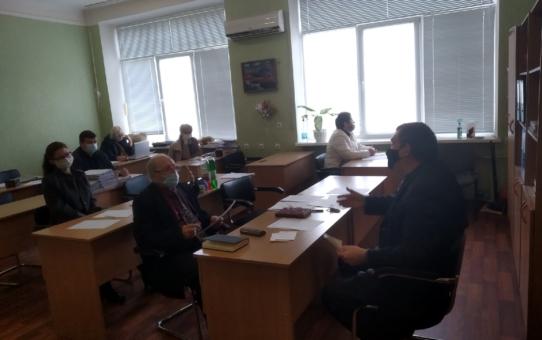 Научно-методическое совещание о проведении учебного процесса с применением электронного обучения и дистанционных образовательных технологий